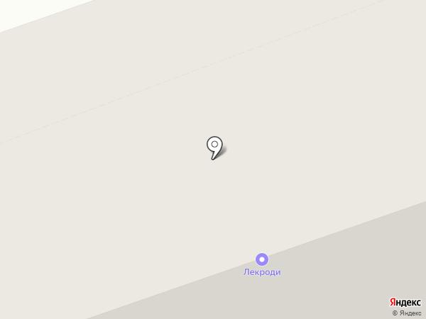 Вербена на карте Северодвинска