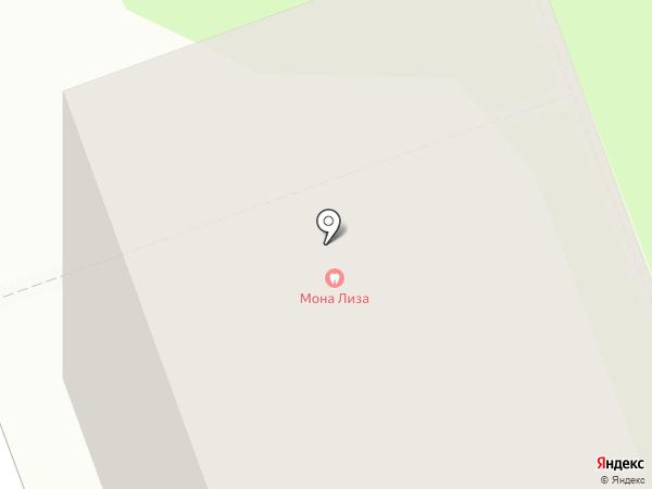 Мона Лиза на карте Северодвинска