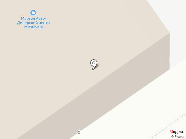 Мартен на карте Вологды