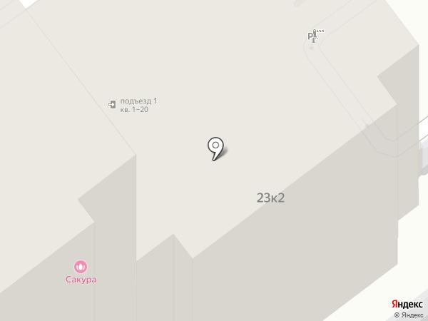 Venda на карте Ярославля
