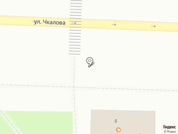 Ярославская Буренка на карте Ярославля
