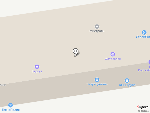 Бетонно-строительная компания на карте Ростова-на-Дону