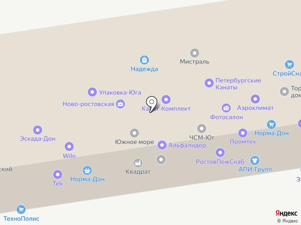 Аэроклимат-сервис на карте Ростова-на-Дону