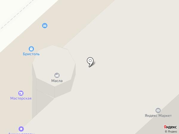 Зубастик на карте Вологды