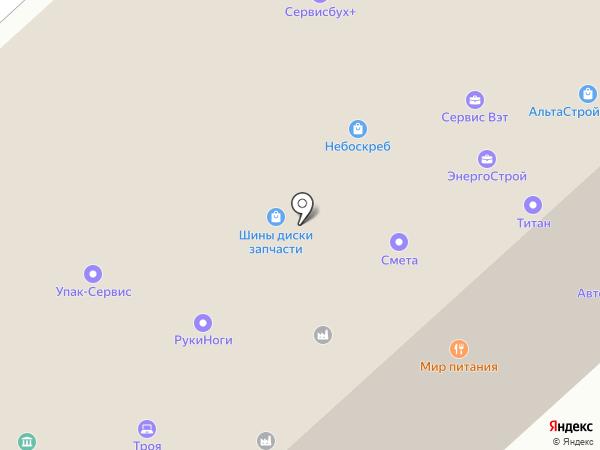 АК-Строй на карте Вологды