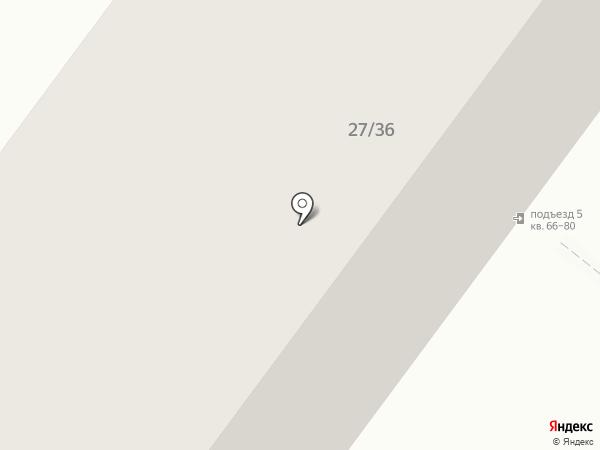 Атлет на карте Ярославля
