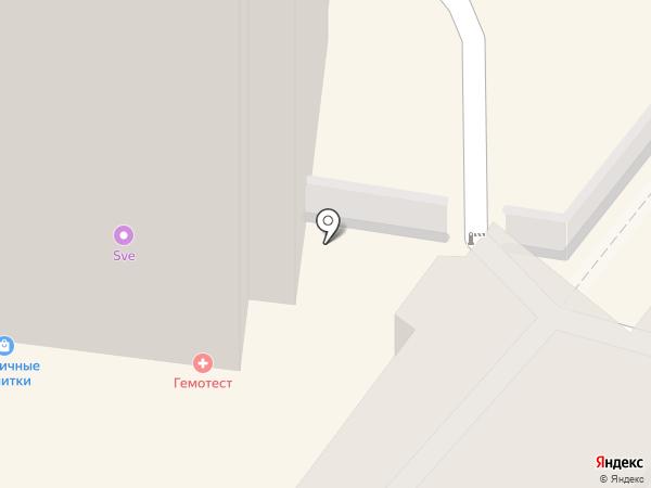 Автоладья на карте Рязани