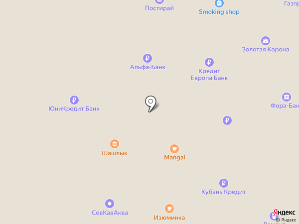 Банкомат, Банк ВТБ 24 на карте Аксая