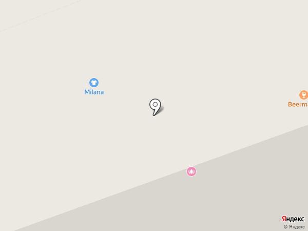 Парикмахерская на ул. Ломоносова на карте Северодвинска