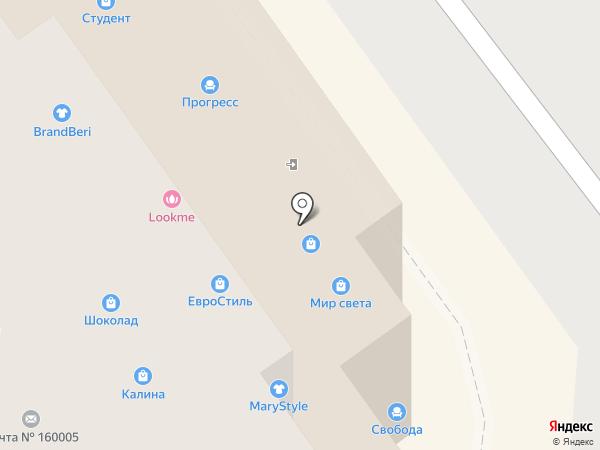 Gesso Parete на карте Вологды