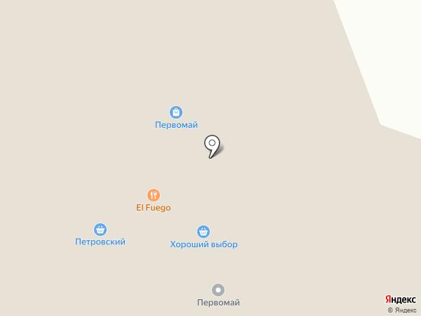 Петровский на карте Северодвинска