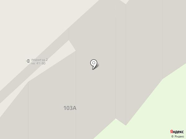 ЭОС на карте Вологды