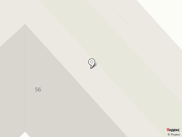 Вельвет на карте Вологды