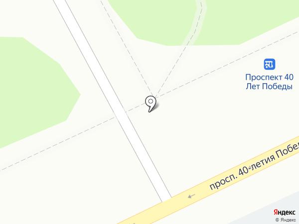 Хлебная лавка на карте Ростова-на-Дону