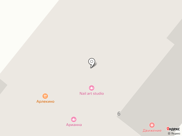 Красное & Белое на карте Рязани