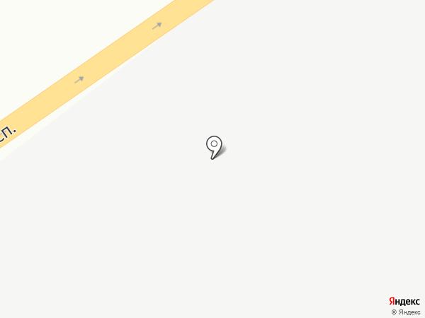 Киоск фастфудной продукции на карте Аксая