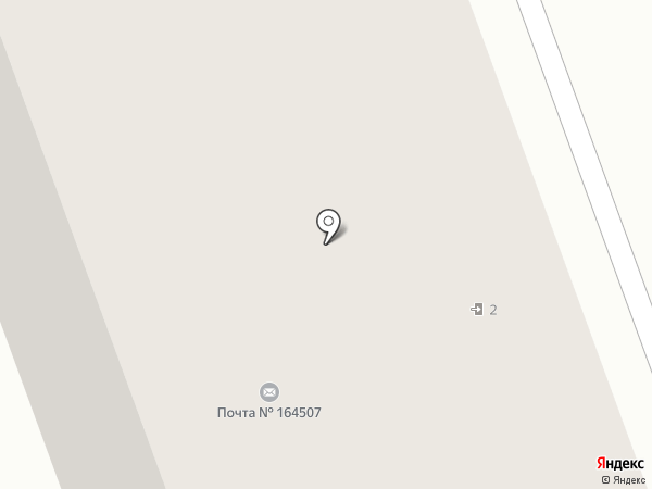 Берфер на карте Северодвинска