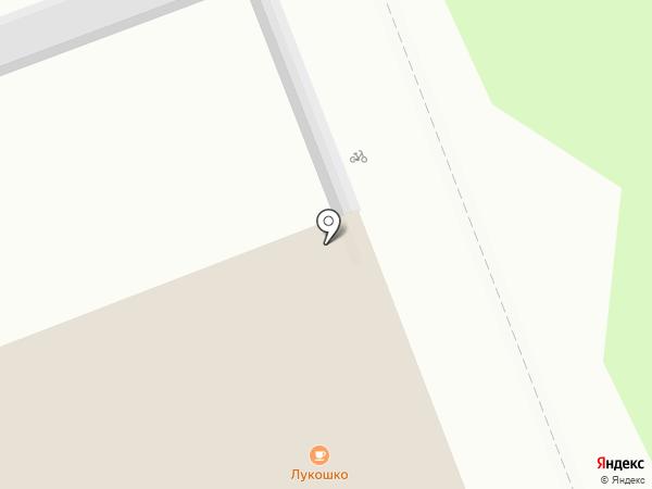 Лукошко на карте Северодвинска
