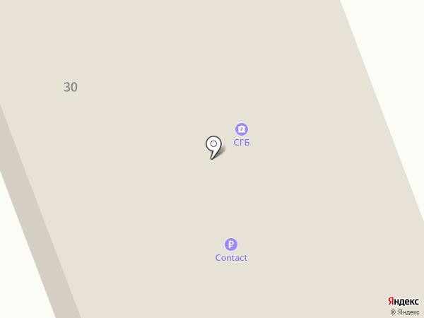 БАНК СГБ на карте Северодвинска