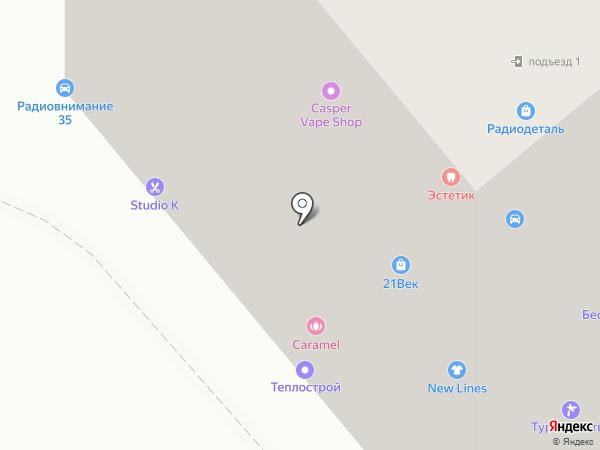 New Lines на карте Вологды