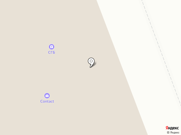 Банкомат, Банк СГБ, ПАО на карте Северодвинска
