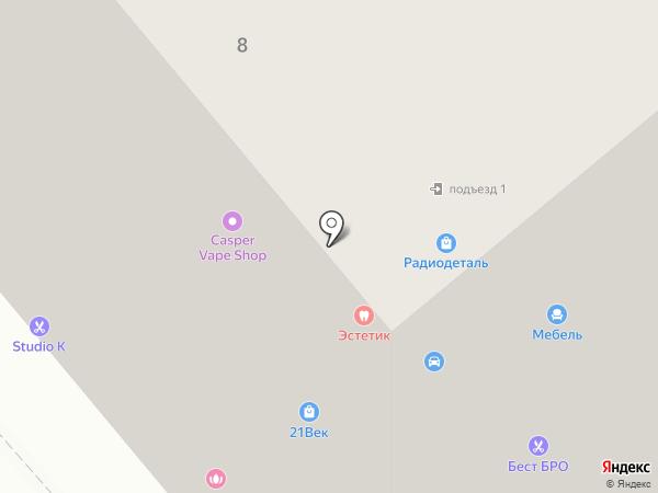 New Line на карте Вологды