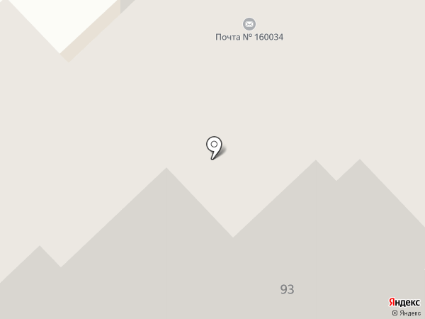 Фрик-N-Фрак на карте Вологды