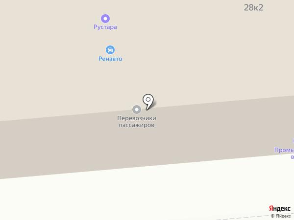 Торгово-сервисная компания на карте Вологды