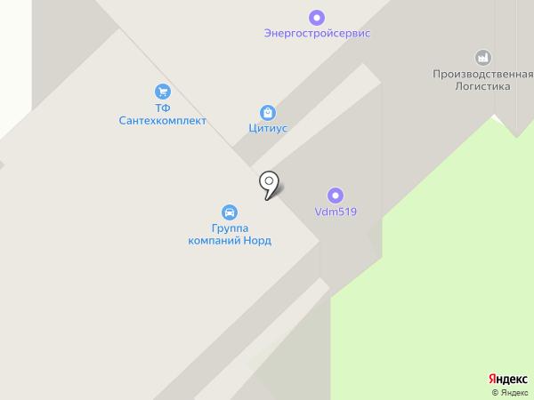 Специализированная Строительная Компания на карте Вологды