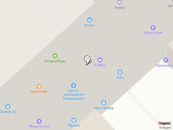 Belwest на карте Вологды