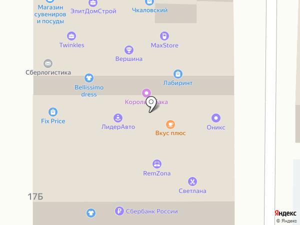 Спортбет на карте Ярославля