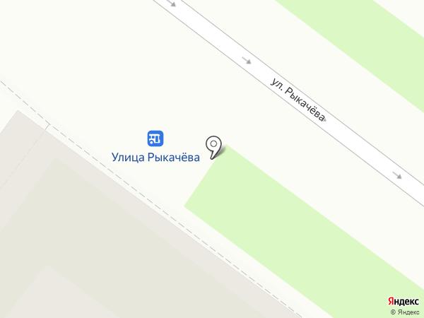 Rose Center на карте Ярославля