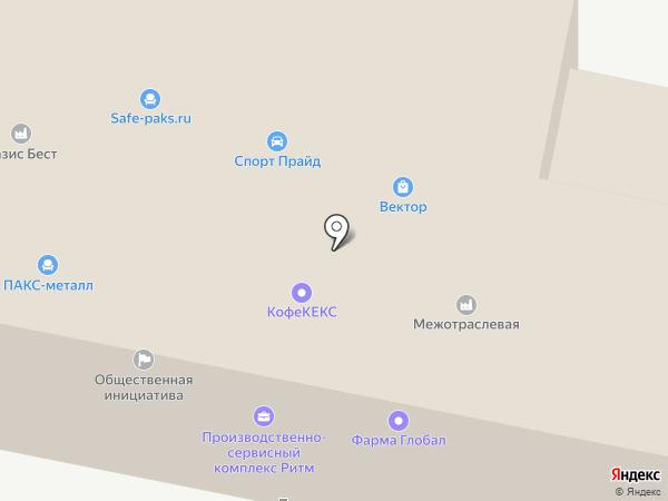 РИТМ на карте Ярославля