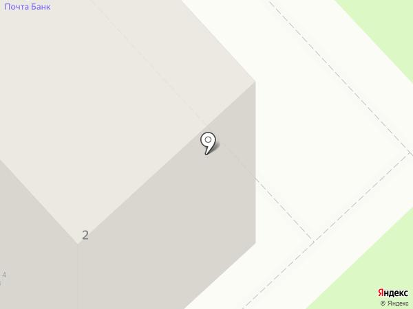 Почтовое отделение №2 на карте Вологды