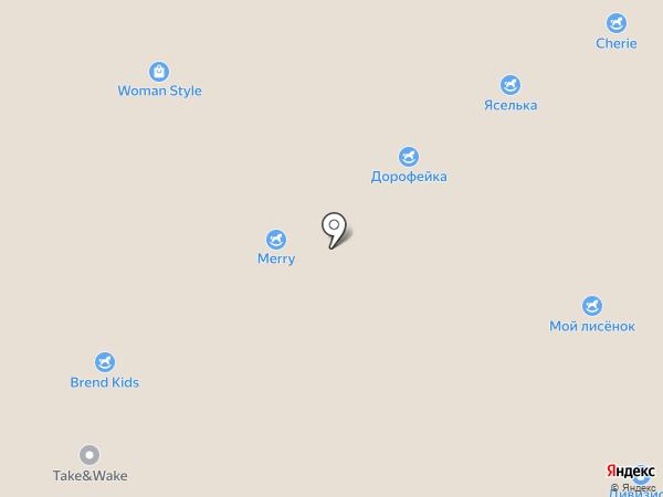 Душечка на карте Ярославля