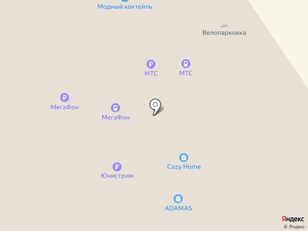 Палитра на карте Ярославля