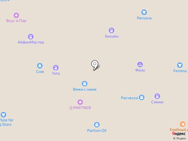 Магазин головных уборов на карте Ярославля