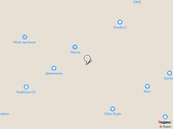 ДМтекстиль на карте Ярославля