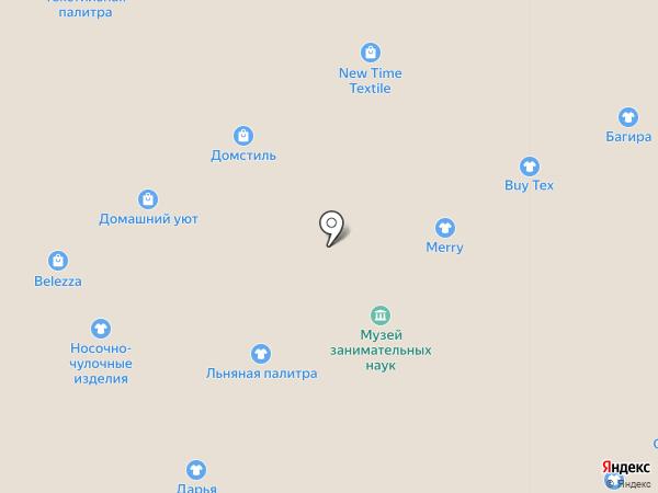 Август на карте Ярославля