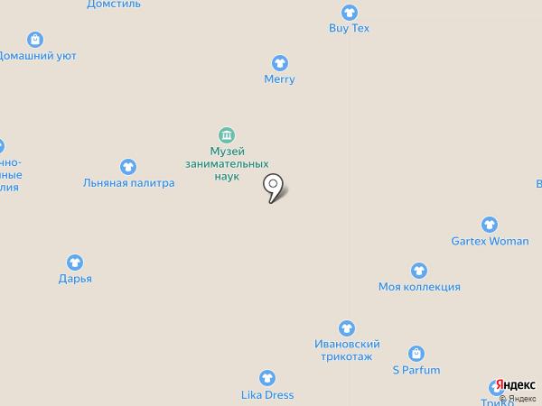 Капитошка на карте Ярославля