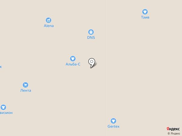 1000полотенец на карте Ярославля