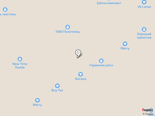 СтильТрикотаж на карте Ярославля