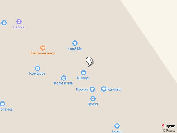 Окулист на карте Ярославля