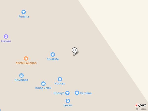 Уютные шторки на карте Ярославля