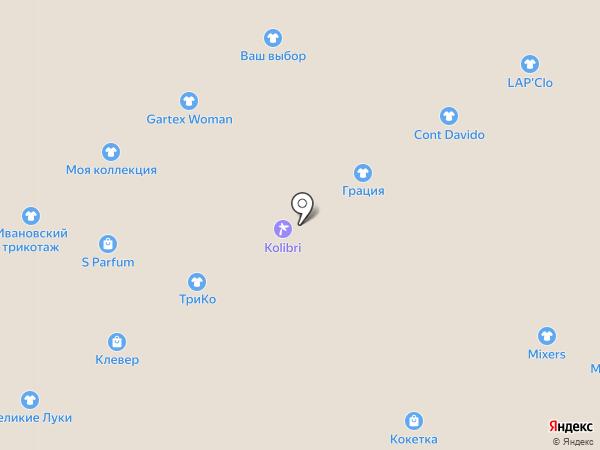 Планета Трикотажа на карте Ярославля