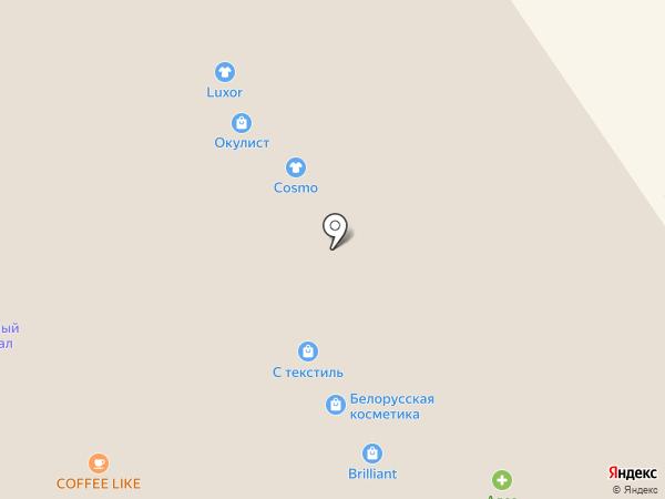 Алоэ на карте Ярославля