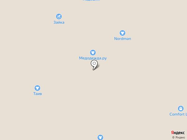 Amaves на карте Ярославля