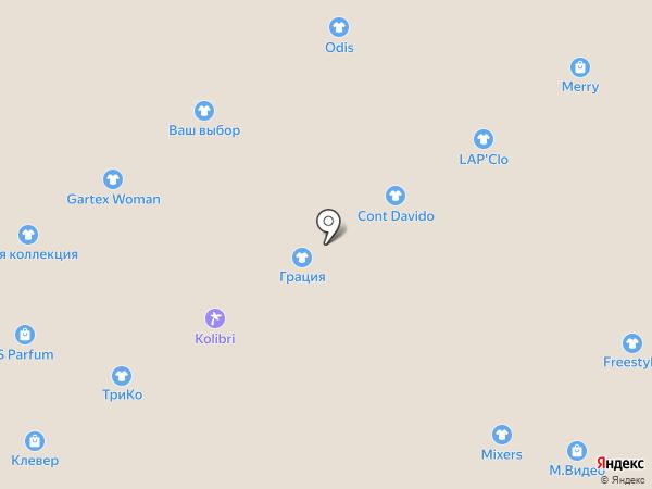 Бонсай на карте Ярославля