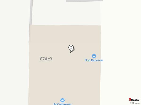 Яравтотест на карте Ярославля