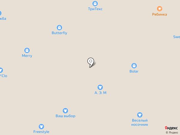 Магазин мебельных тканей на карте Ярославля